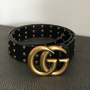 Gucci Studded Belt